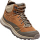 Keen Terradora Leather Mid WP Sko Damer grå/brun